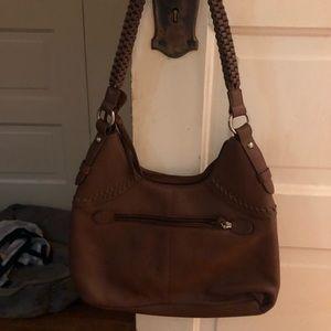 Brown medium handbag NWOT Coldwater Creek